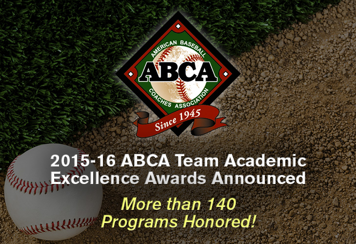 2015-16 Academic Excellence Award Announcement