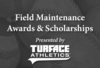 Turface Field Maintenance Awards & Scholarships