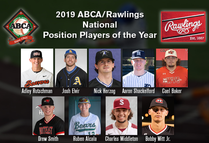 ABCA/Rawlings Position Players of the Year