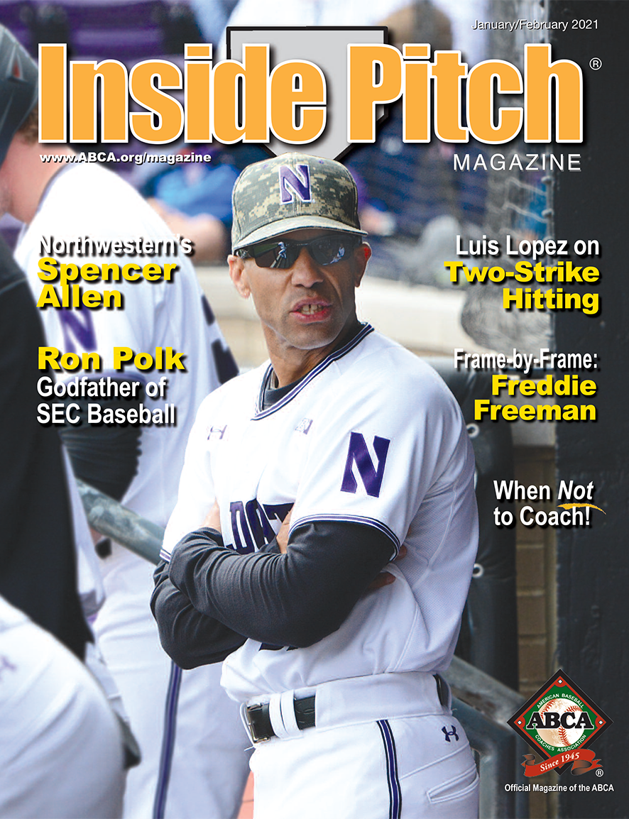 Inside Pitch Magazine Cover with Spencer Allen