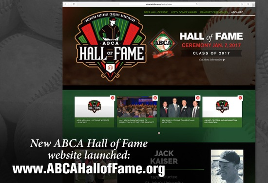 ABCA Hall of Fame website